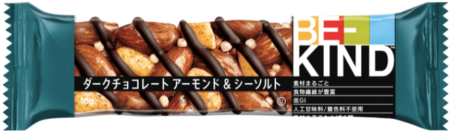 ダークチョコレート アーモンド&シーソルト